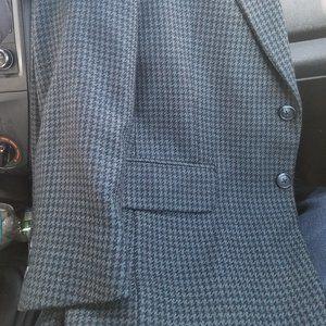 Burberry Vintage Houndstooth/Plaid Unisex Blazer!